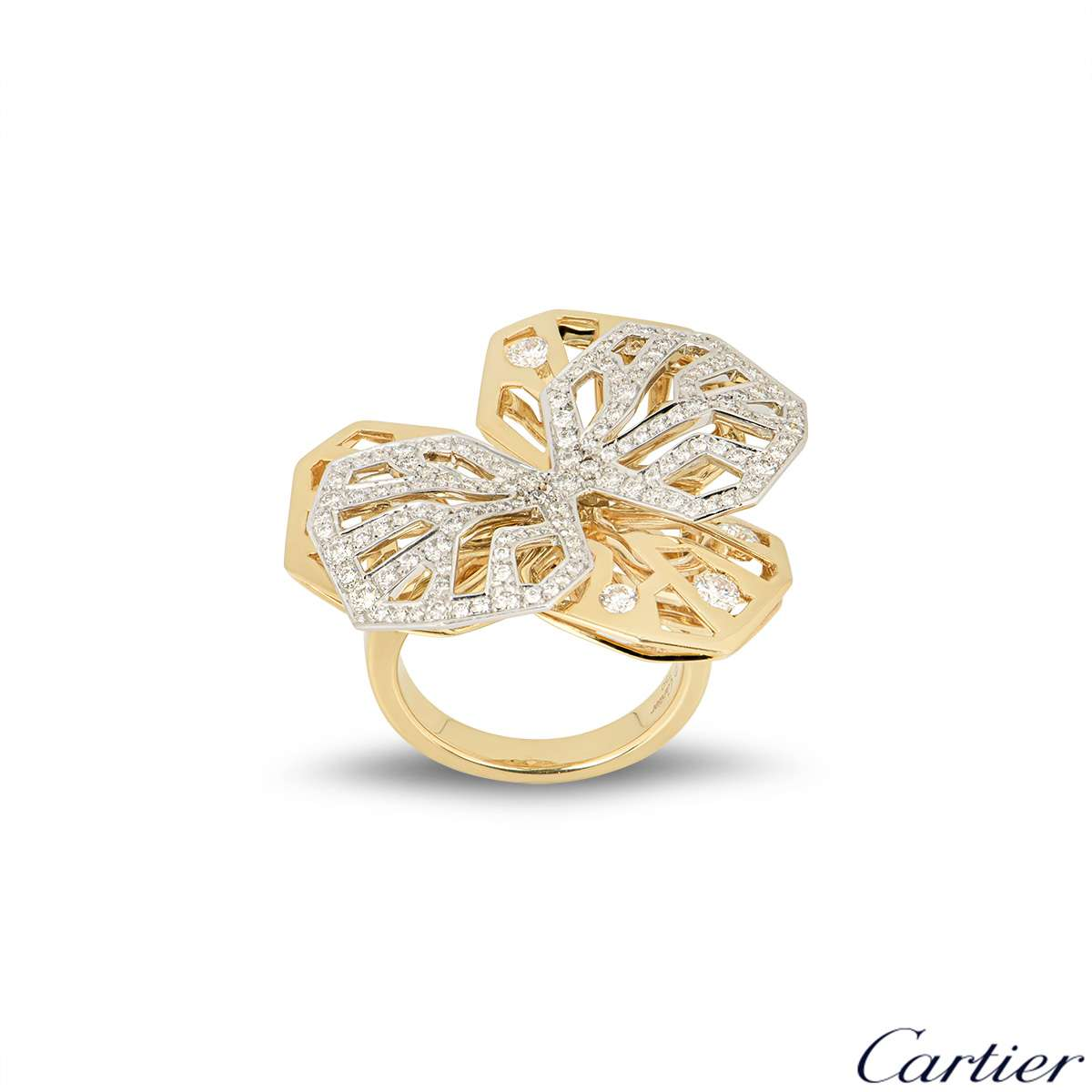 Cartier Caresse dOrchidees Necklace & Ring Suite